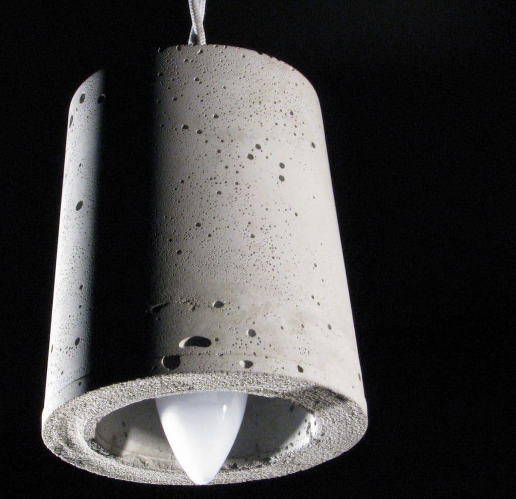 lampa beton