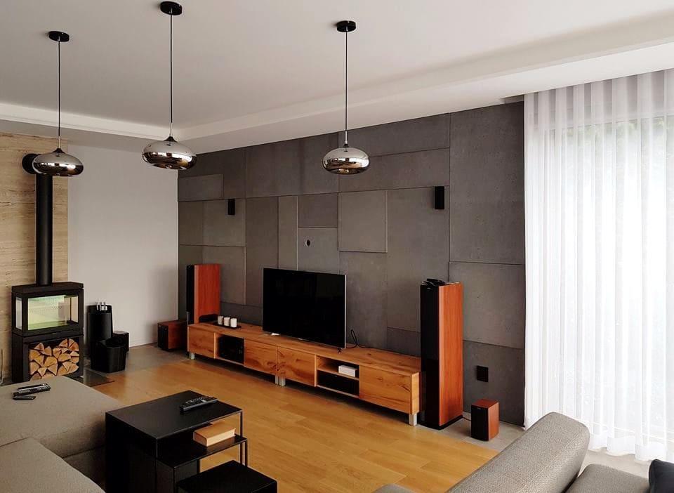 płyta beton architektoniczny na dekoracja wnetrz pmdesign - PM Design - Beton architektoniczny i metal